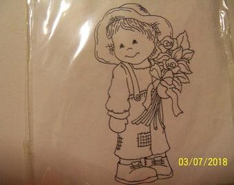 Bildmalara unmounted rubber stamp: Mimo-Roses