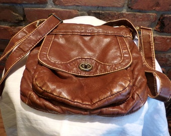 Brown Mudd Cross Body Purse, Cross body purse, Mudd purse, Small cross body purse, Morethebuckles, Name brand purse