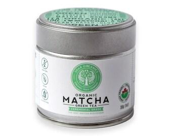 Organic Matcha Green Tea Powder - Ceremonial Grade - 30g - 25 Servings