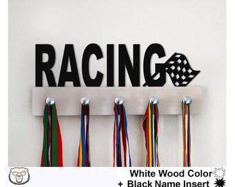 Racing Medal Holder, Racing Medal Display,Sport Gift,Racing Gift,Race,Racing Medal Rack, Racing Medal Holder, Medal Hanger, Wall Mount