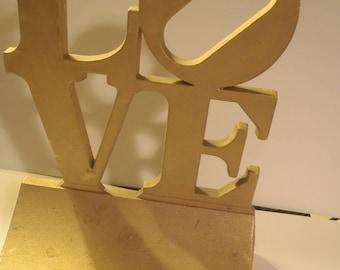 Love Statue Bookends
