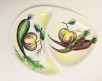 Ucagco Japan Divided Serving Platter