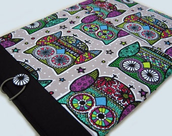 "11"" Acer Chromebook sleeve, 11"" HP Chromebook case, Lenovo IdeaPad case, 11"" Laptop sleeve, Owls"
