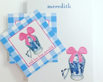 Happy Ginger Jar PADS with bow