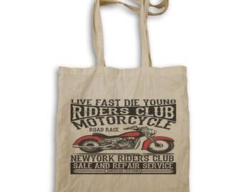 Riders Club American Motorcycle Tote bag aa171r