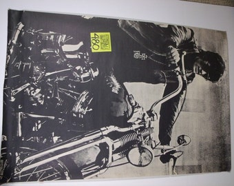 Original 1960's Easy Rider/Wild angels Poster