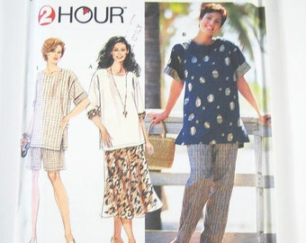 Simplicity Separates Pattern 7221 - Misses' Pants, Shorts, Skirt and Tops - Sz 18/20/22/24W