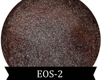 Duochrome Red Blue Green and Gold  Eyeshadow Eos-2