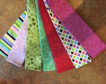 Scrappy Jelly Roll Fabric - 42 strips