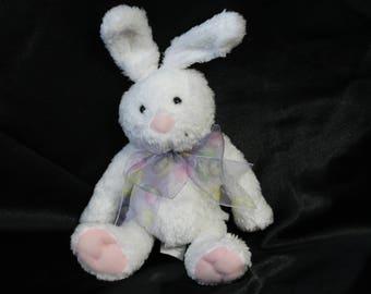 Hallmark Easter Bunny Rabbit Plush Toy - White Stuffed Bunny Rabbit Toy