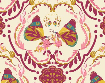 Painted Ladies' Kiss Emmy Grace - Bari J. - Art Gallery Fabric - 100% Quilters Cotton Available in Yards, Half Yards and FQ's EMG-5607