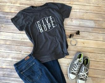 FACT goods Give Hope Women's Short Sleeve T-Shirt