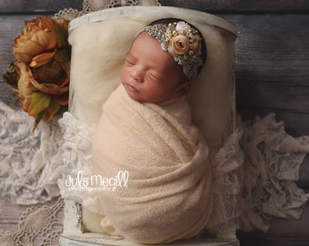 """NEW SOFT FUZZY Stretch Newborn Wraps 63""""x19"""", newborn photography, newborn wrap"""