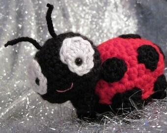 Amigurumi Crochet Pattern Dottie The Ladybug