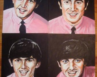 Early Beatles paintings