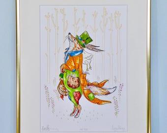 Mr Fox, Giclee Art Print - Country Gents