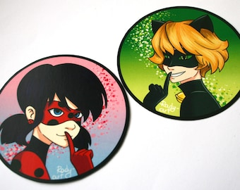 Miraculous Tales of Ladybag and Chat Noir sticker set