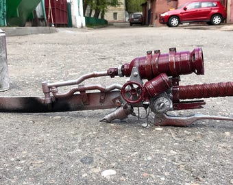 fallout inspired shishkebab sword