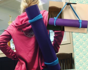 Yoga Strap Yoga Mat Strap 100% Cotton