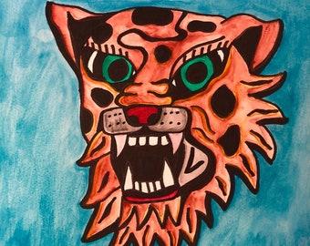 Wildcat Painting