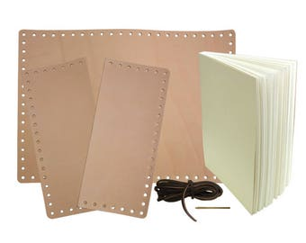 Leather Journal - diy kit - make your own journal