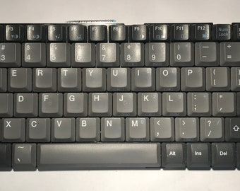 GRAY Laptop keyboard keys for crafting! Over 80 keys!