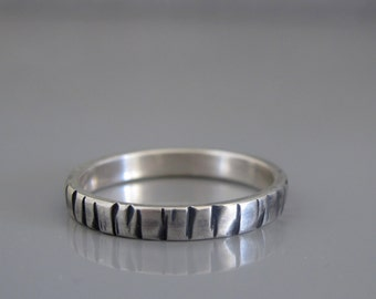 Mens Wedding Band, Men's Jewelry, Wedding Band For Men - Made to Order Silver Wedding Band For Him , , Thin Band For Men