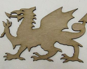 Dragon Wood Cut Out - Laser Cut