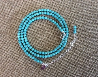 Turquoise Beaded Strand