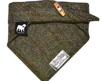 Classic harris tweed neckerchief