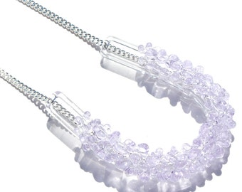 Glass Cluster U Necklace