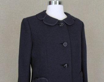 SALE - 1960s Navy Suit / Vintage 60s Suit
