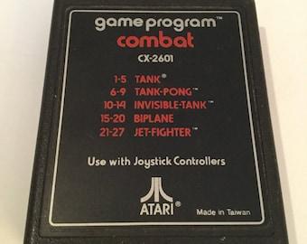 Vintage 1980's Combat For Atari 2600