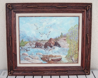 Wood Picture Painting Frame.