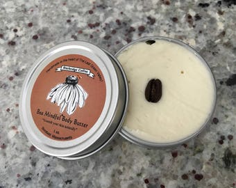 Bee Mindful Coffee Body Butter, Sturbridge Coffee Body Butter, Coffee Body Butter, Shea Body Butter, All Natural Coffee Body Butter