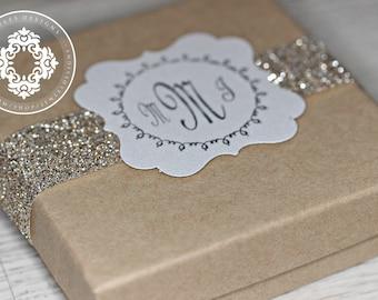 Monogram Gift Boxes 3.5x3.5x1
