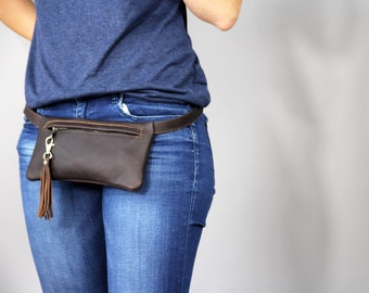 Leather Fanny Pack, Hip Bag, Fanny Pack Leather, Belt Bag, Mini bag, Leather Waist Bag, Leather Pouch, Fanny Pack, Leather Woman Bag