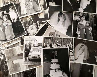 Vintage 1960s Wedding Album