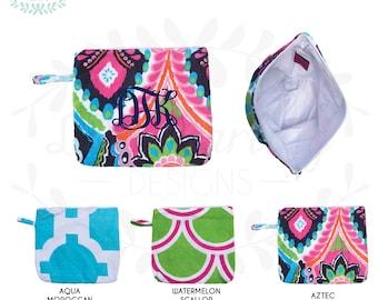 Monogram Bikini Bag/Wet Bag/Bathing Suit Bag