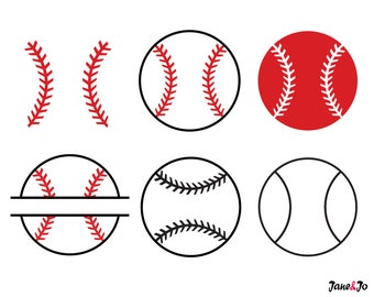 Baseball SVG,Baseball SVG Cut files,Baseball monogram for Silhouette,softball svg files,softball silhouette Cricut,softball Baseball vector,