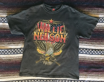 Vintage Willie Nelson Shirt // Shotgun Willie //