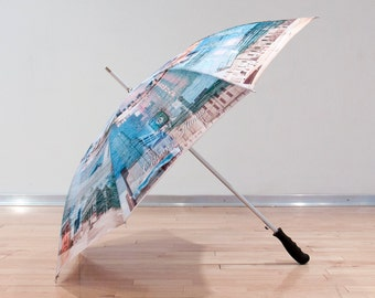 Art Umbrella - Chicago, Illinois Photo Collage