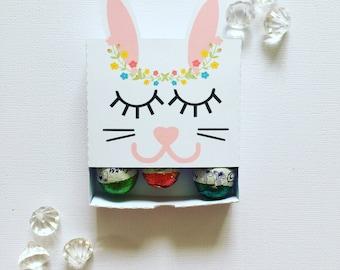 Sleepy bunny matchboxes