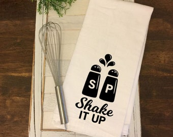 Flour Sack Towel - Shake It Up