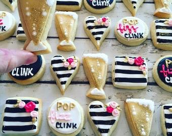 Mini Pop, Fizz, Clink! Cookie set