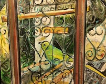 Wall Art - Art Print - The Birdcage  - Arles, France - France Art - Leah Reynolds