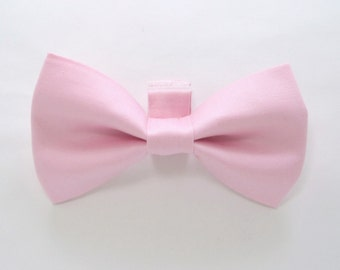Pink  Dog Bow Tie / Pink Dog Bow Tie/Wedding Dog Bow