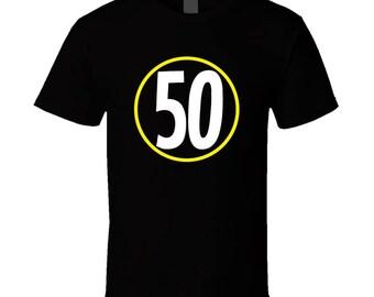 Ryan Shazier 50 Support Shalieve Football Apparel Cotton T Shirt