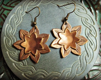 Antique LOTUS Earrings