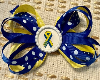 Boston Strong Hairbow